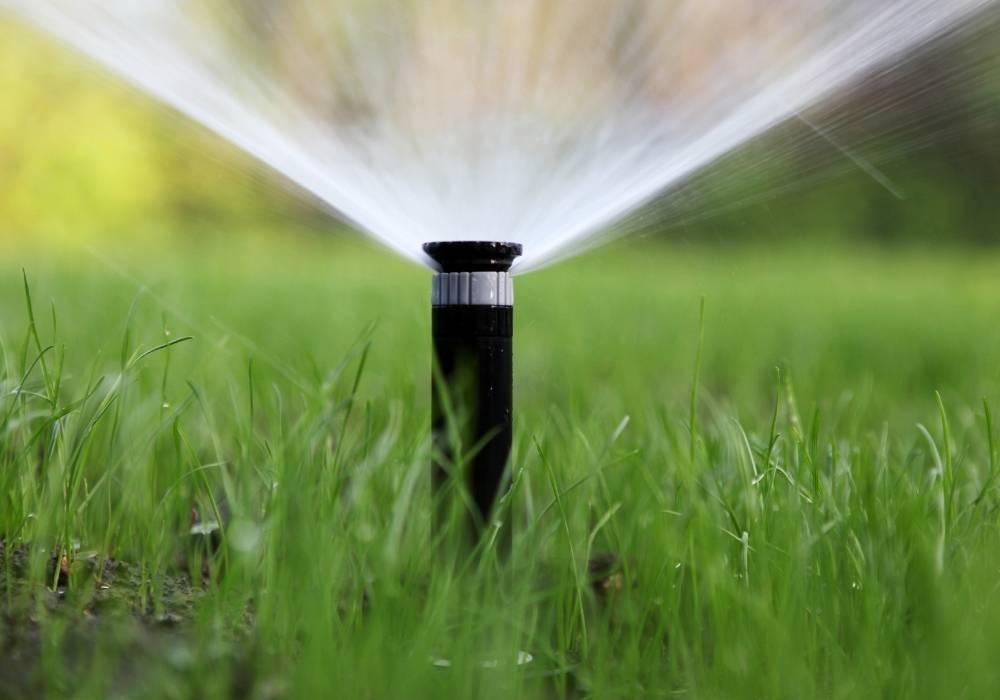 large coverage sprinkler